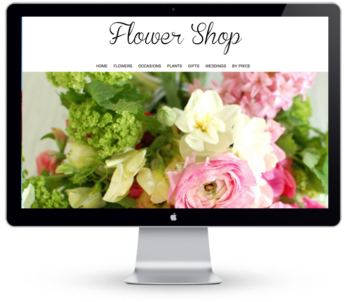 Florist Website - Example 1