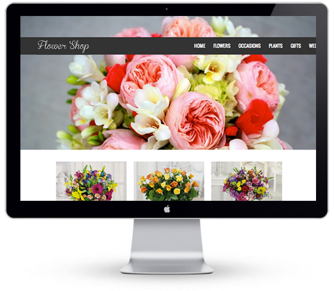 Florist Website - Example 2