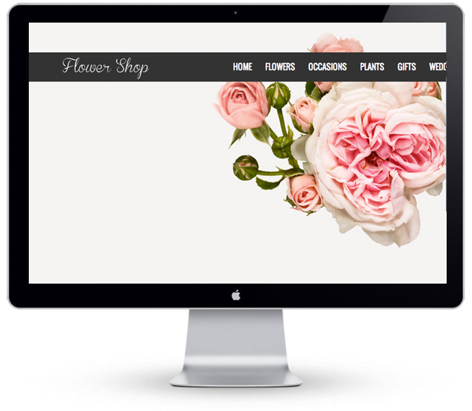 Florist Website - Example 3