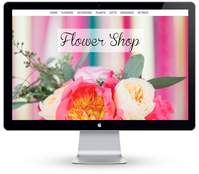Florist Website - Example 4