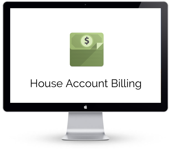 Florist Point of Sale - House Account Billing