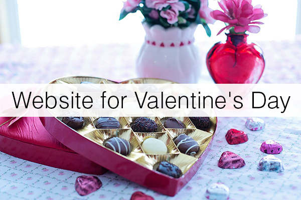 valentines-Florist-Website