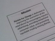 Florists for Change – Mission Statement