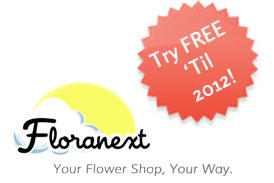 Floranext florist POS and websites - Try Free Until 2012