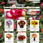 Jenny's Flowers - Example Florist Website
