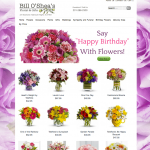OSheas Flowers - Example Florist Website