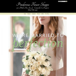 Example Florist Website - Ponderosa Flowers