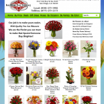 San Diego Rose Company - Example Florist Website