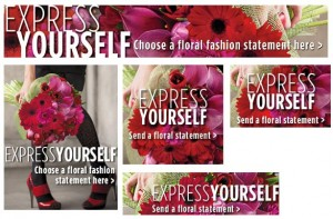 Florist Banners - Express Yourself