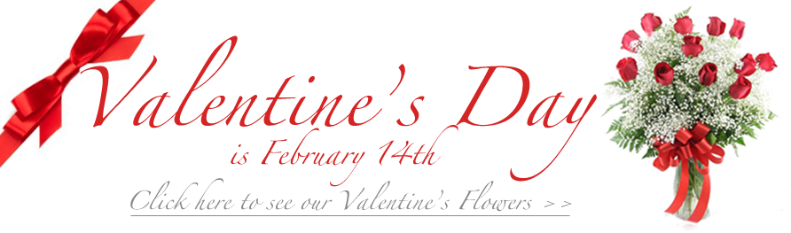 Florist Valentine S Day Banners And Backgrounds Floranext