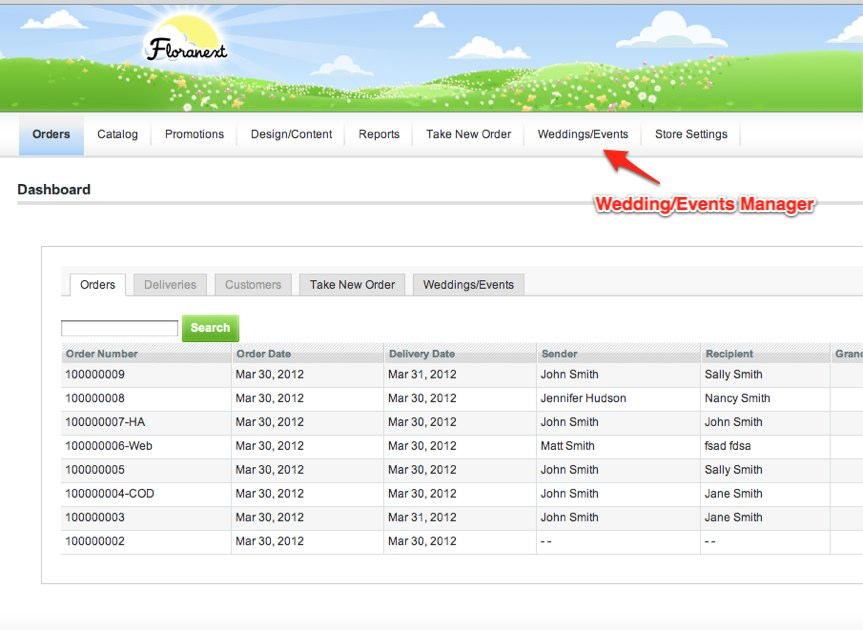 Wedding Proposal Software - Screenshot