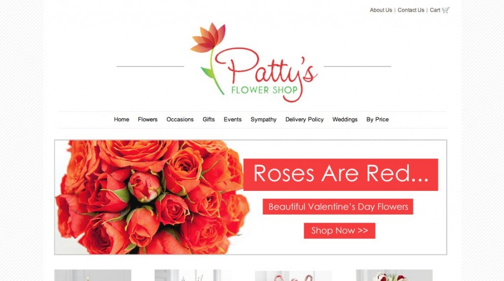 Florist Website - New Banners