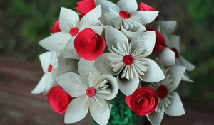 Beautiful origami flowers floranext florist websites floral pos beautiful origami flowers mightylinksfo