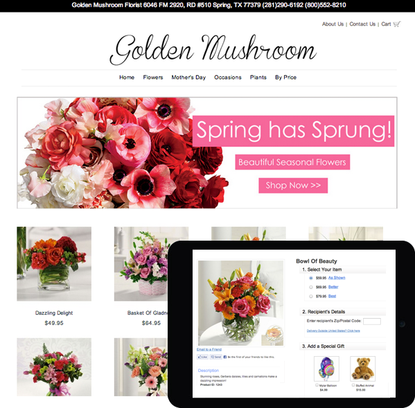 E Commerce Website For Flowers - Fresh Flower Bouquets | title | flowers web