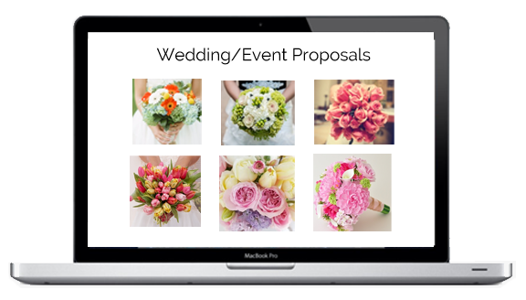 florist wedding software