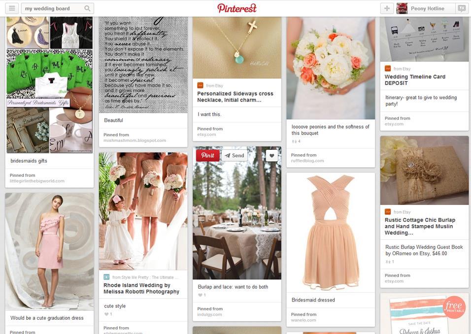 Florist Pinterest Board
