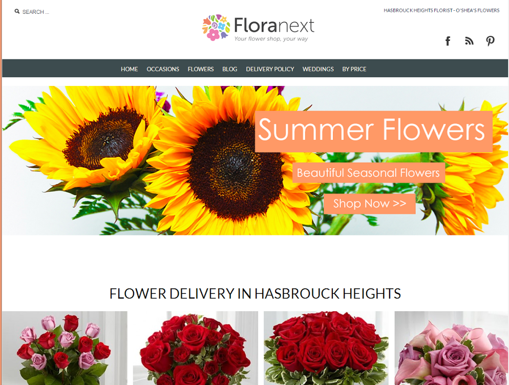 Floranext New Florist Website Theme