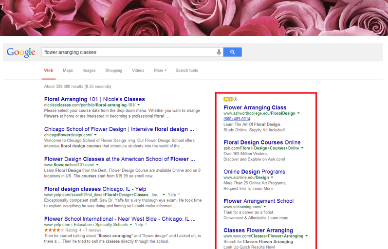 florist marketing - google