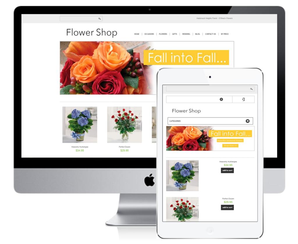 Responsive Florist Website