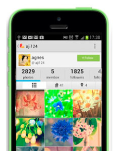 Photo editor app for florists