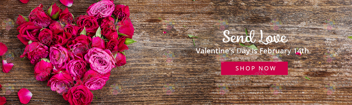 valentine's day and spring banners for florist websites, Ideas