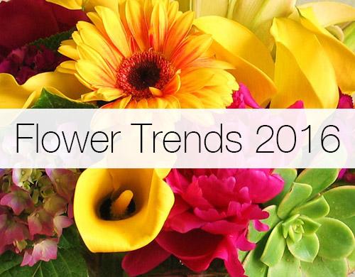 Flower Trends 2016