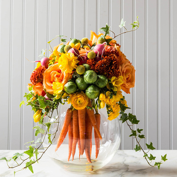 Floral-Food-Carrott-Arrangement