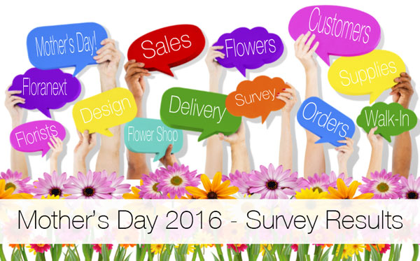 Mother's Day Florist Survey