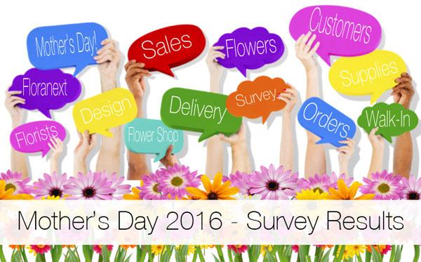 Mother's Day Florist Survey
