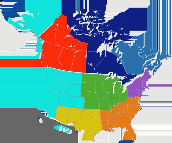 US & Canada-Florist-Locations