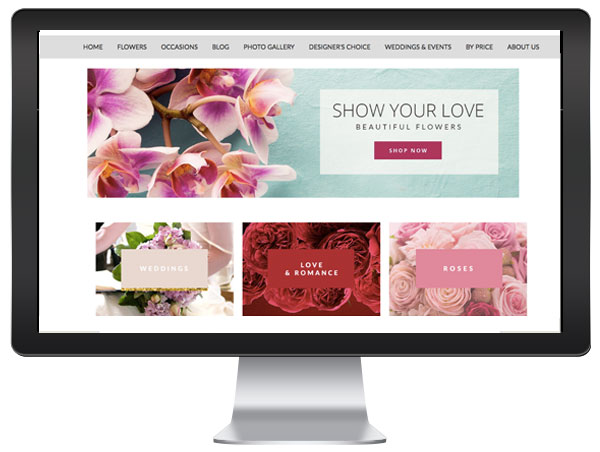 Florist Website Blocks