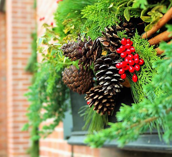 florist-holiday-display