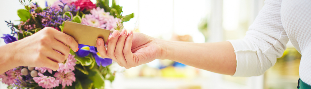 Florist Credit Card Processing