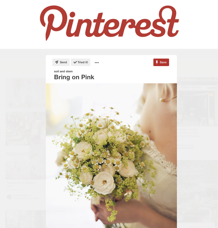 Pinterest - Social Media for Florists