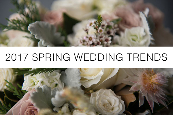 spring wedding trends 2017