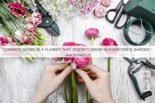 Florist-customers-common-sense