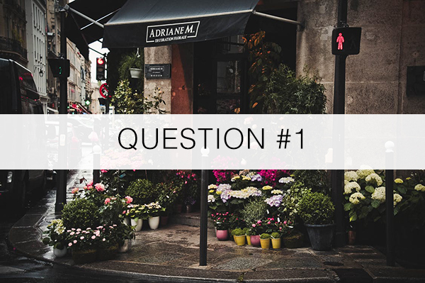 Question1-florist advice