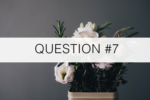 Question7-Florist-Advice