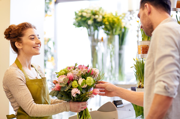 Florist-wedding-courteous