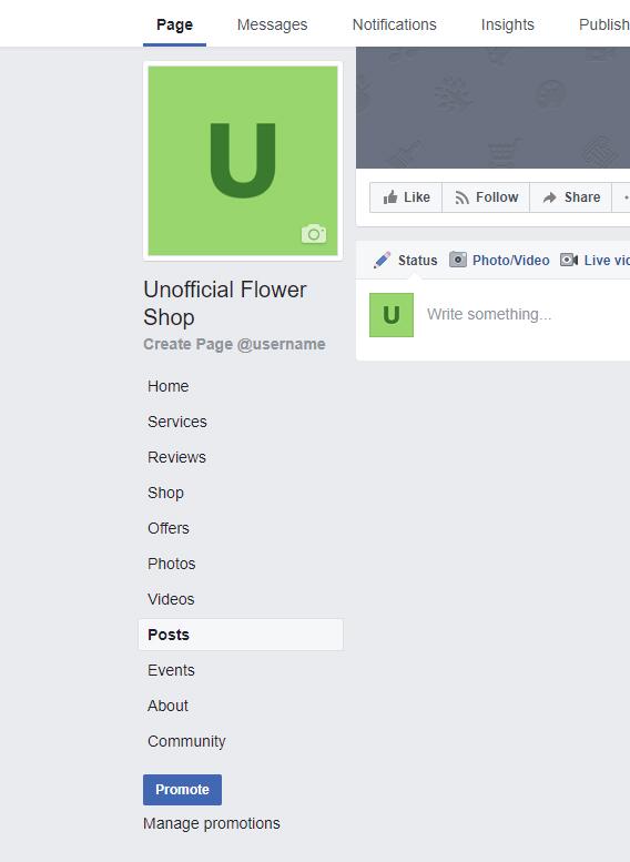 florist-facebook-page