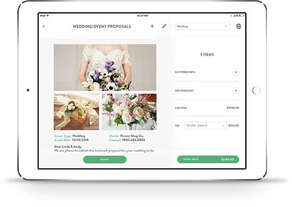 Premium Wedding Event Proposals For Florists Floranext Florist