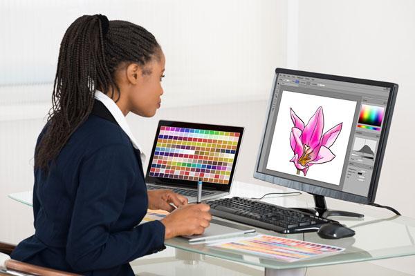 Graphic-designer-flowers