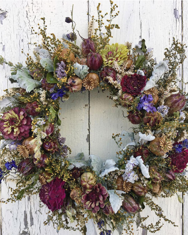 Dried-Wreath