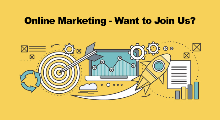 Online Marketing Role - We are Hiring