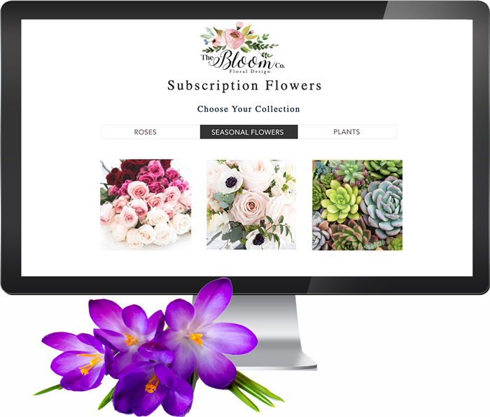 Subscription Flowers - Florist Websites