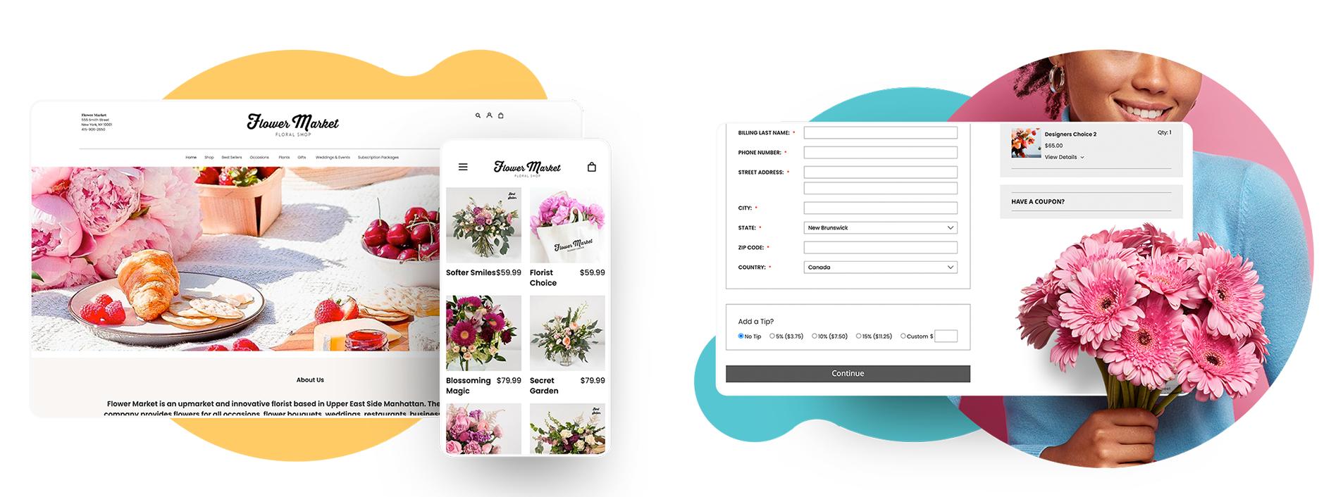 Florist Website - New Platform