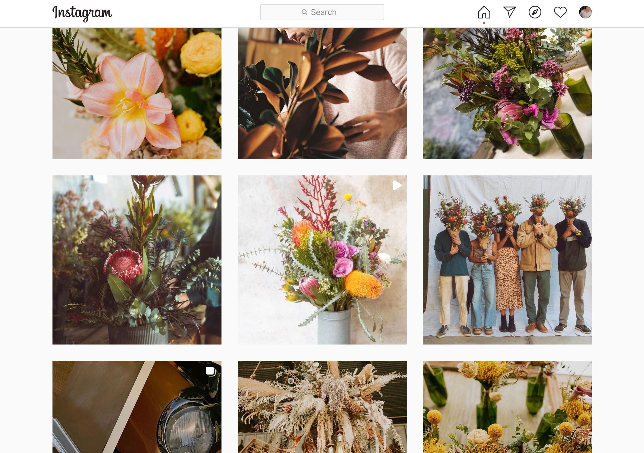 Instagram Video for Florists